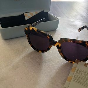 Karen Walker The Number One Sunglasses TortoiseNEW